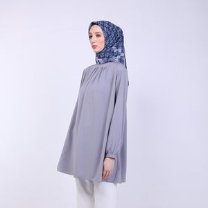 Amber Grey Basic Blouse
