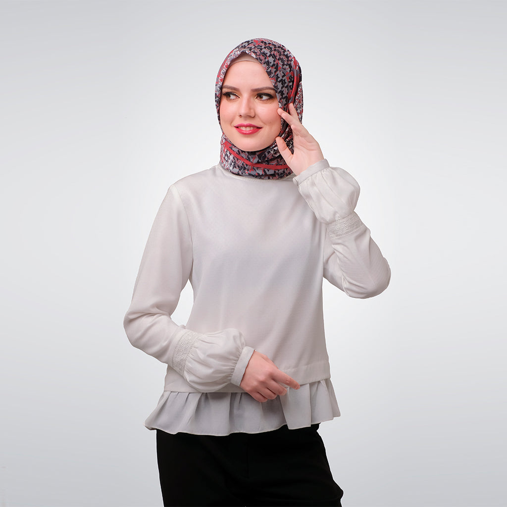 White Lace Delisha Blouse
