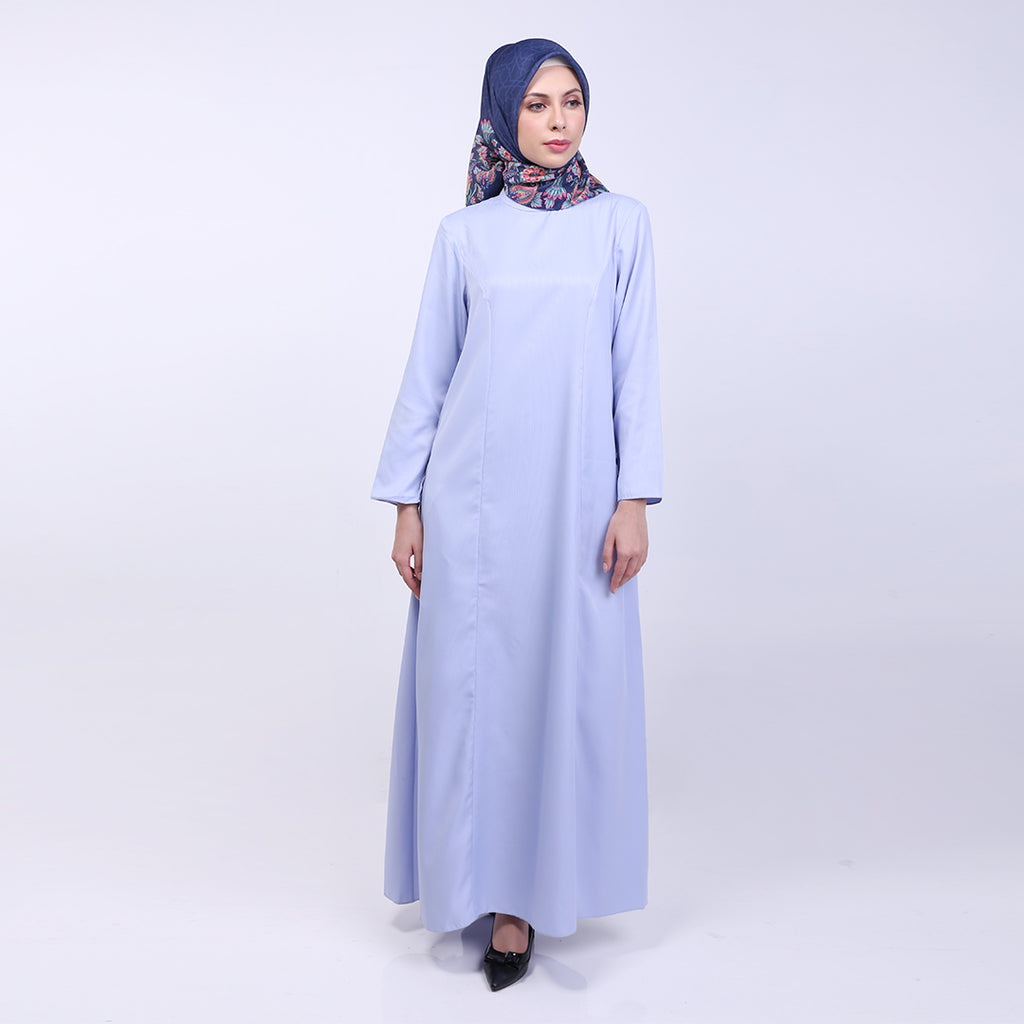 Anzani Blue Basic Dress
