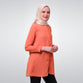 Andra Orange Basic Blouse
