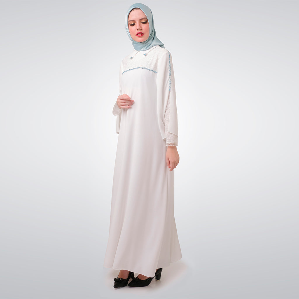 White Thania Dress