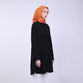 Zyana Black Basic Blouse