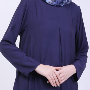 Aryana Navy Basic Dress