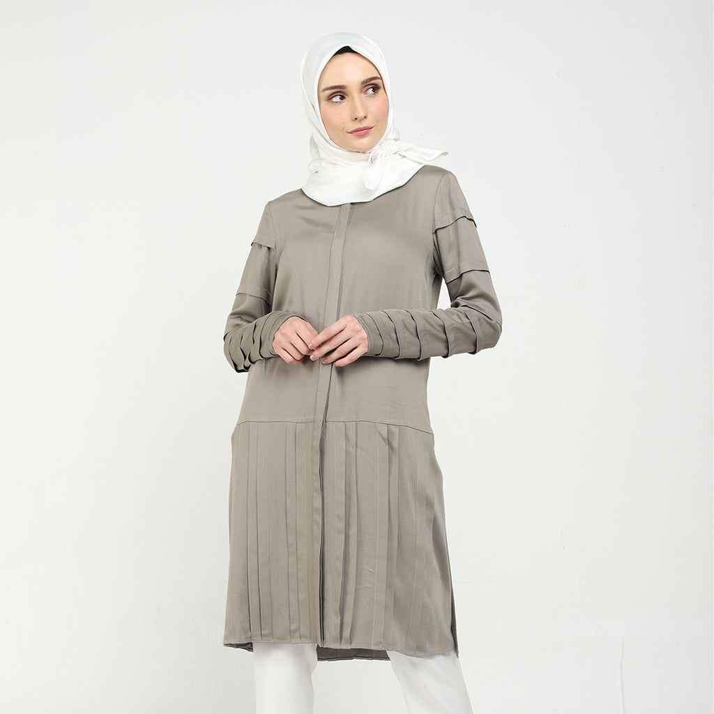 Grey Alvarie Blouse