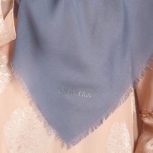 Chana Scarf Milky Blue