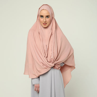Crossover Head Hijab Instant