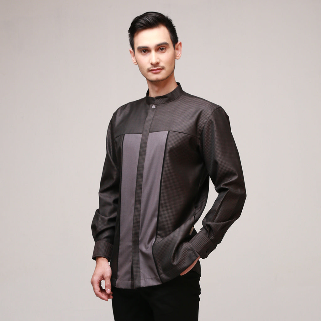 Cotton Black Devian Menswear