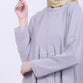 Galina Light Grey Basic Dress
