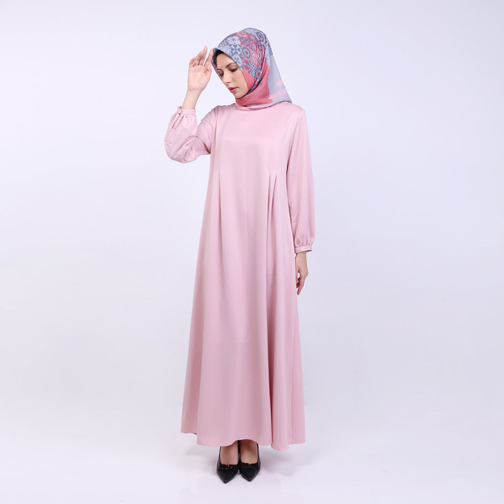 Mia Pastel Basic Dress