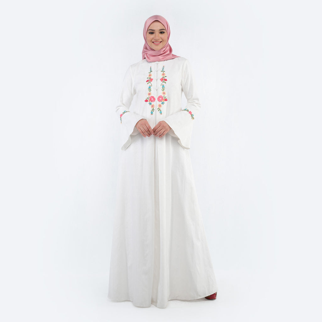 Nashila White Dress