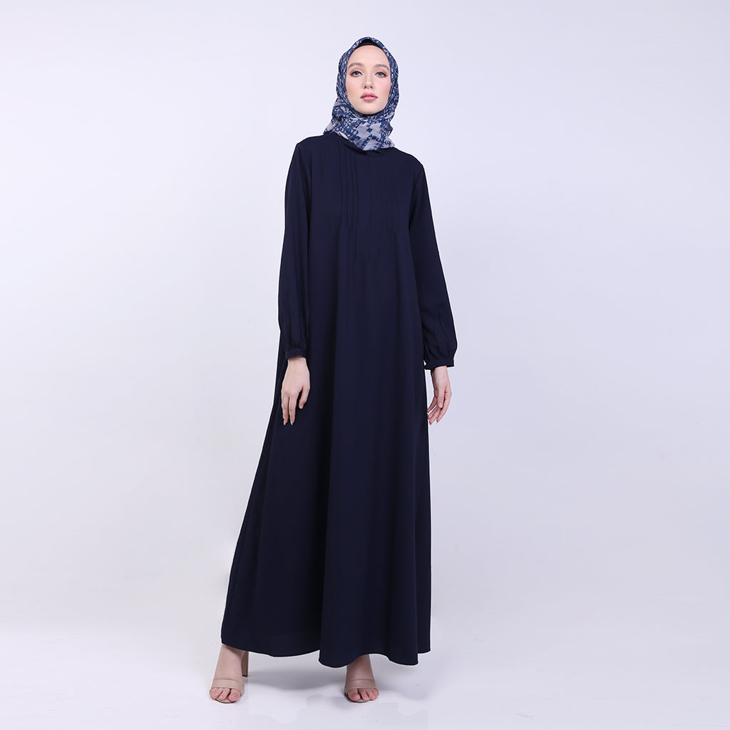 Zarina Navy Basic Dress