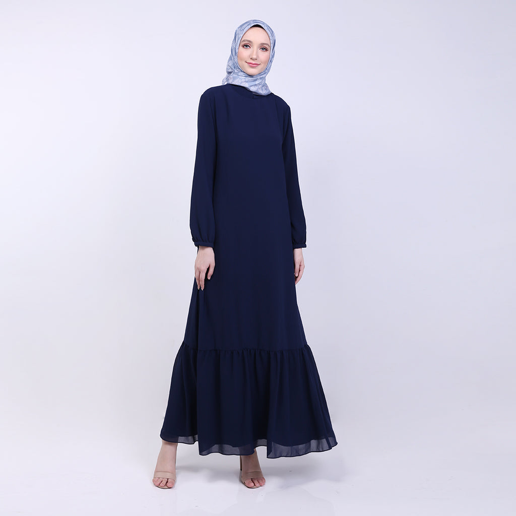 Natha Navy Basic Dress