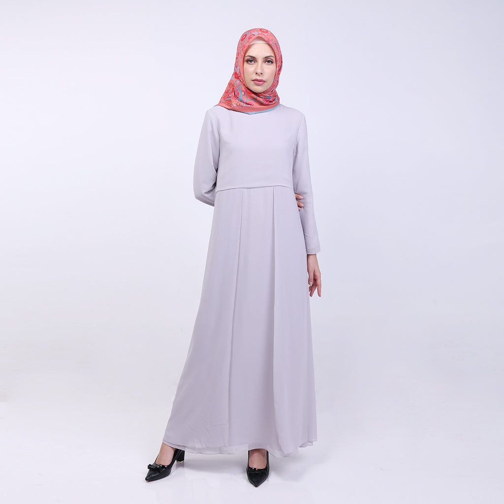 Tasha Grey Basic Dress