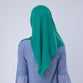 Adaline Cut Out Green Scarf