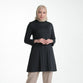 Maisyara Basic Tunic Black