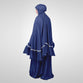 Frana Metalic Blue Prayer Set