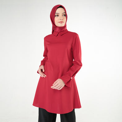 Red Rivka Blouse