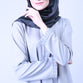 Grey Vazza Basic Blouse