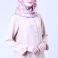 Cream Carla Basic Blouse