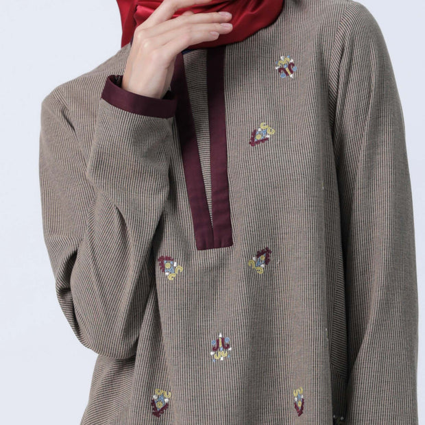 A Line of Casuality Blouse