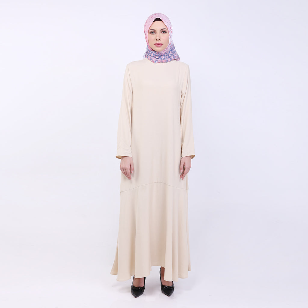 Sheina Khaki Basic Dress