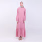 Natha Pink Basic Dress