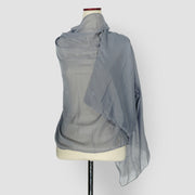 Plain Shawl Grey