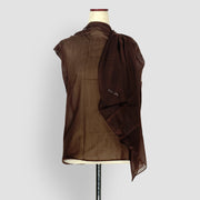 Plain Shawl Brown