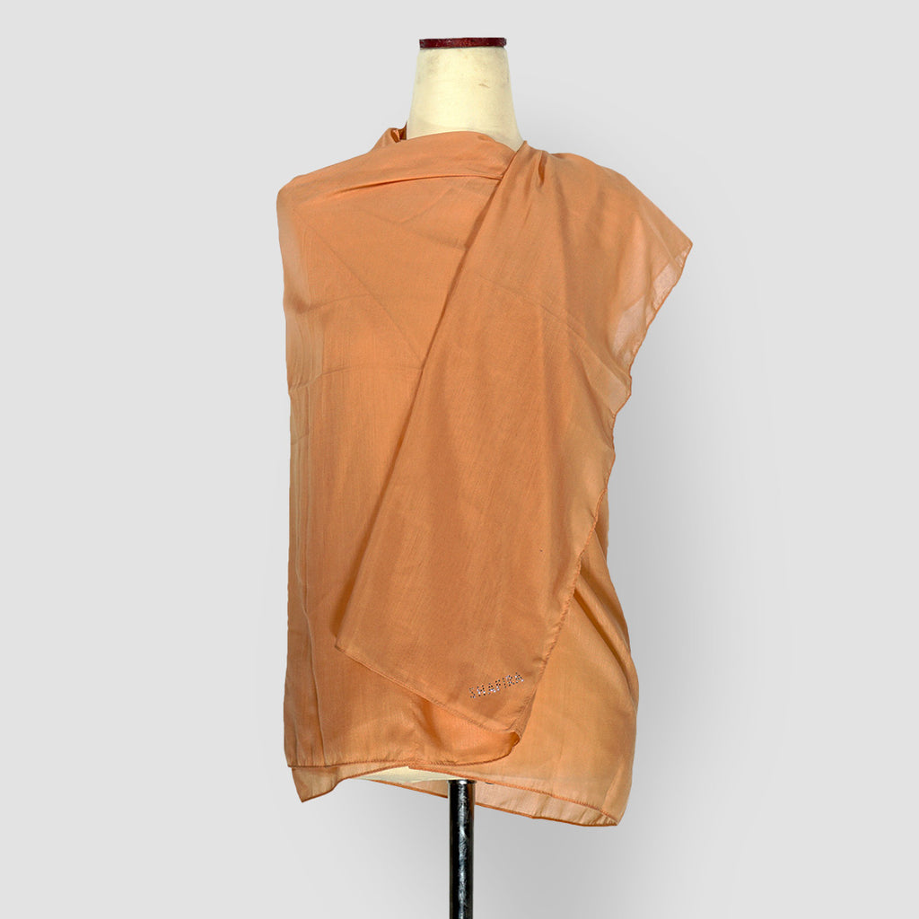 Plain Shawl Orange