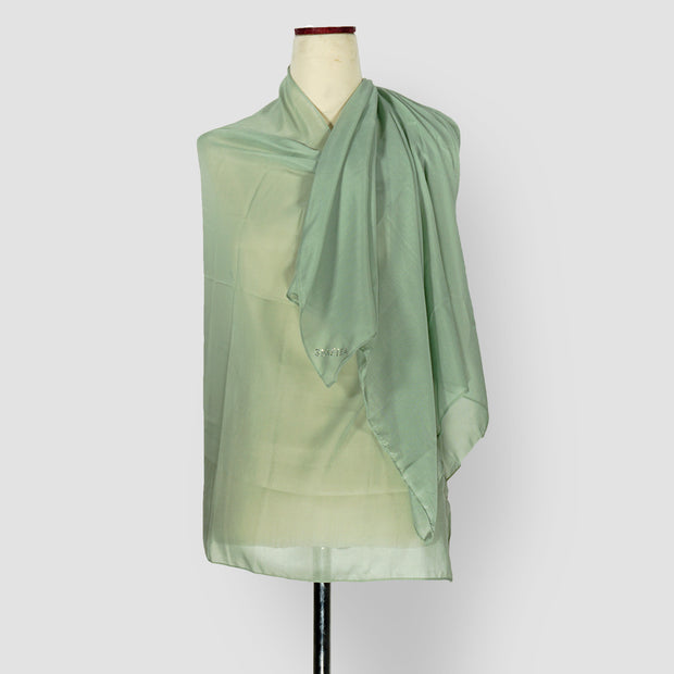 Plain Shawl Green