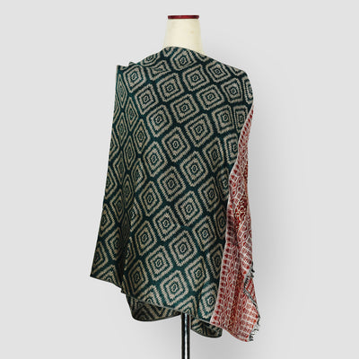Scania Knitting Shawl Green