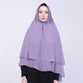 Agatha Purple Khimar