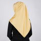 Satin Swarovski on Top Scarf Yellow