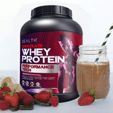 Zealth - Whey Protein Concentrate | 80% Protein | Chocolate Flavour - 2Kg