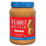 Zealth - Crunchy Peanut Butter | Unsweetened | Natural | Non GMO | Vegan | Gluten Free