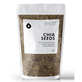 Zealth Black Chia Seeds - Raw