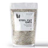 Zealth Steel Cut Oats - Gluten Free | Breakfast Cereal