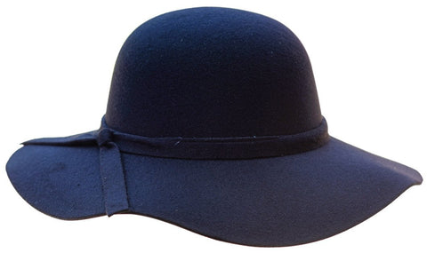 Audrey Floppy Hat in Black