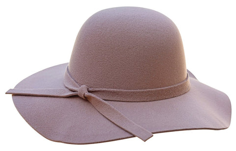 Audrey Floppy Hat in Camel