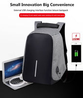 """BOBBY"" USB Charge Anti Theft Backpack   532 ORDERS"