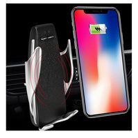 ROTARY Automatic Clamping Wireless Car Charger Mount 360 Degree Rotation