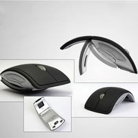 Kebidumei New 2.4GHz  Wireless Mouse Foldable