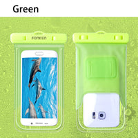 FONKEN Luminous Waterproof Case for Phone  with Arm Band   438 ORDERS - GUANCIECOM