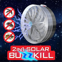 Pest Insect Bug Mosquito Buzz Kill Zapper Killer UV Light Lamp Outdoor Travel Device Solar Repeller 2018 New - GUANCIECOM