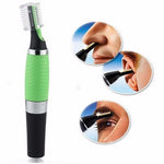 Precision Ear Eyebrow Nose Trimmer Removal Clipper Shaver Personal Electric Built In LED Light Face Care Hair Trimer - GUANCIECOM