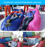 Outdoor camping sofa inflatable Easy to carry