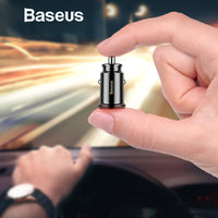 Baseus Mini USB Car Charger For Mobile Phone  Adapter in Car - ORDERS 567