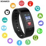 BOAMIGO smart watches bluetooth heart rate message -ORDERS 468