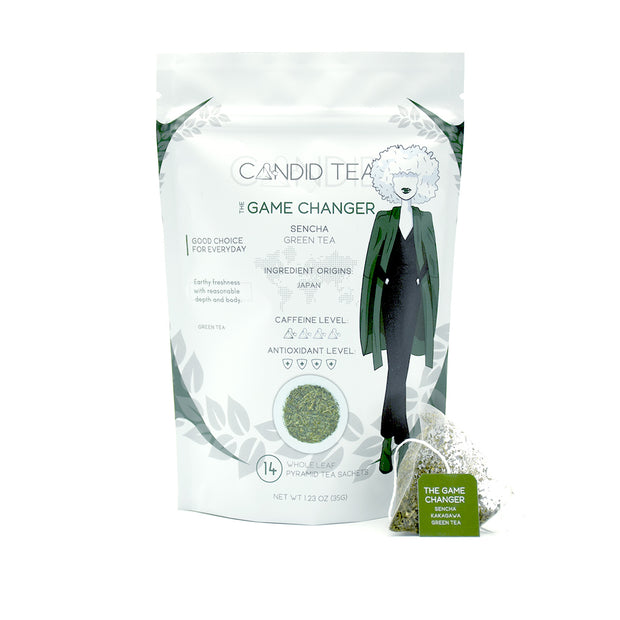 The Game Changer: Sencha – Green Tea:  - Candid Tea