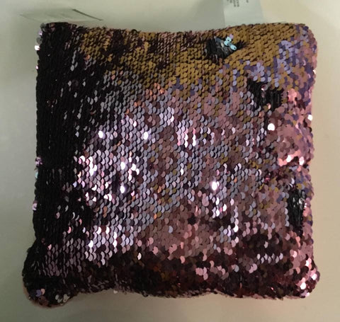 Sequins pillow